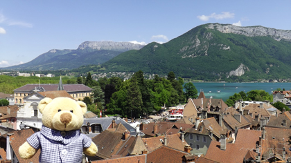 Panorama di Annecy